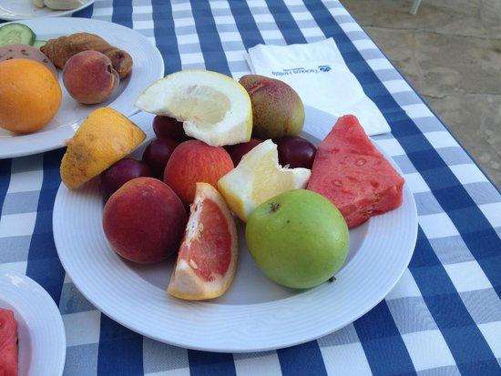Iliada Beach Hotel: Завтрак