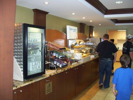 Holiday Inn Express St. Jean sur Richelieu : breakfast area