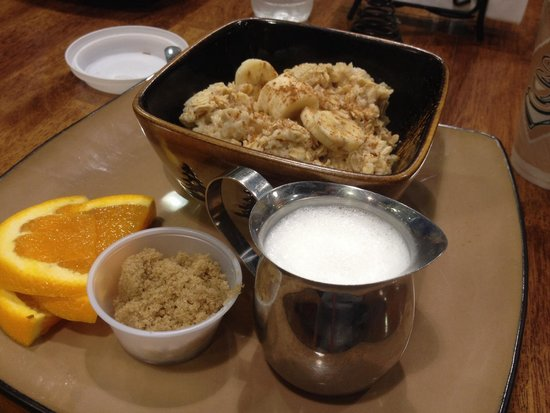 Mocha Moose Cafe : Classic oatmeal