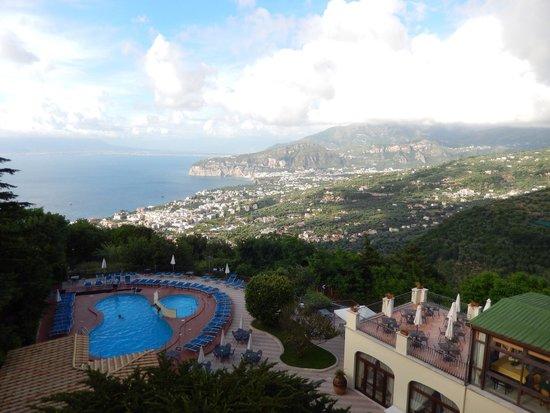 Grand Hotel Hermitage & Villa Romita : Vista desde la habitación
