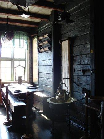 Det Hanseatiske Museum og Schoetstuene : столовая для работников