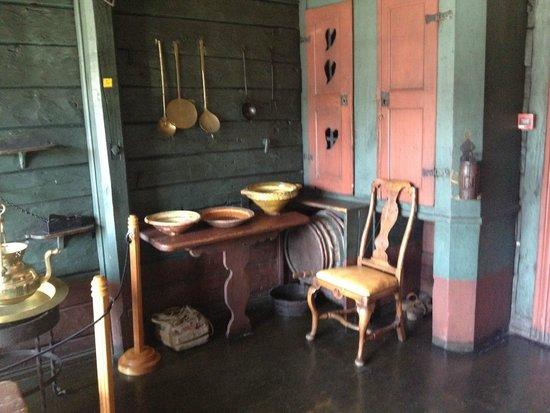 Det Hanseatiske Museum og Schoetstuene : кухня