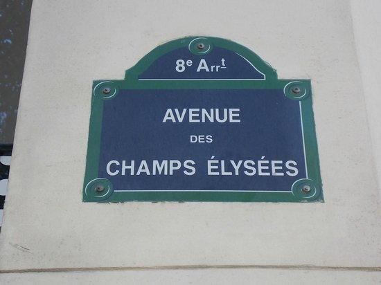 Champs-Élysées : Sensacional
