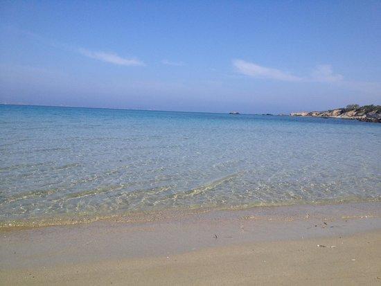 Naxos Imperial Resort & Spa: Spiaggetta privata( non mi pare cosi brutta come qualcuno scrive... Anzi...