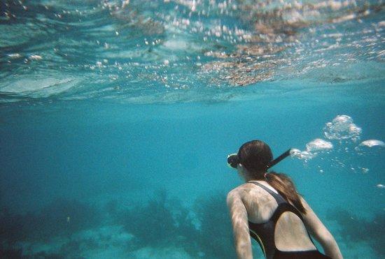 Ebanks Watersports: Love the blue Carribean
