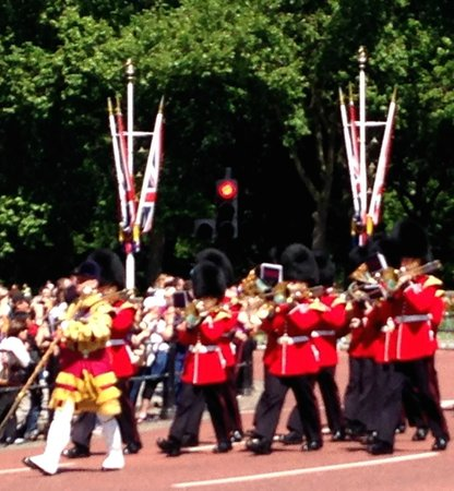 Changing of the Guard: Band for Prince Philip's 93rd birthday
