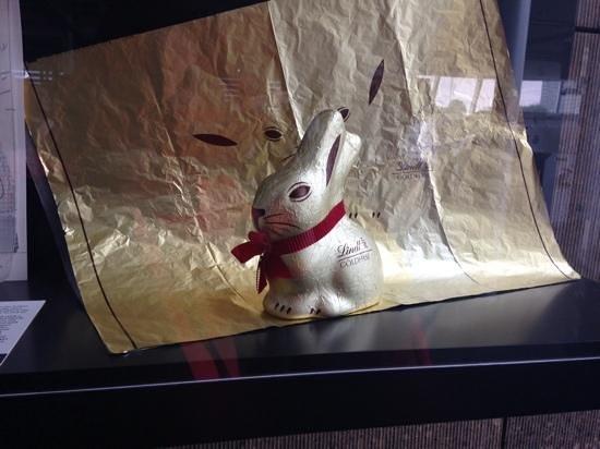 Schokoladenmuseum Köln: Coelhinho e sua embalagem.
