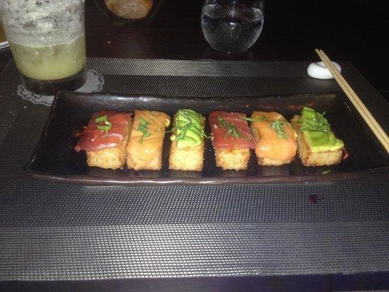 On the Rocks: Crispy Sushi