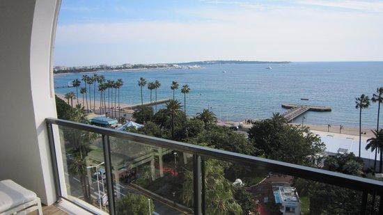 Hôtel Barrière Le Majestic Cannes : Great view