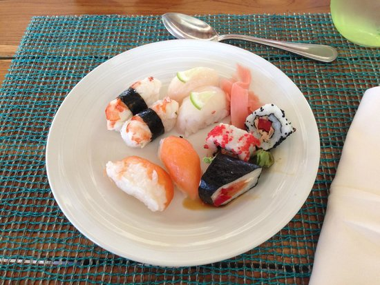 The Reserve at Paradisus Palma Real: Sushi!