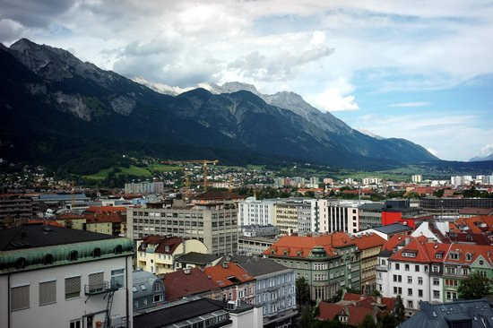 Hilton Innsbruck: View from the room