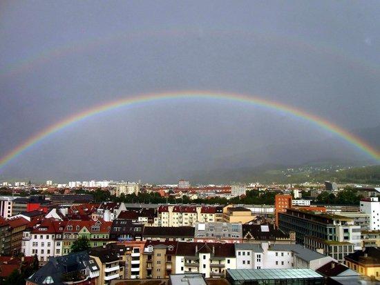Hilton Innsbruck: Rainbow !
