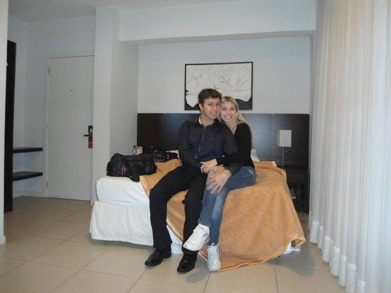 Hotel Plaza Norte : O quarto