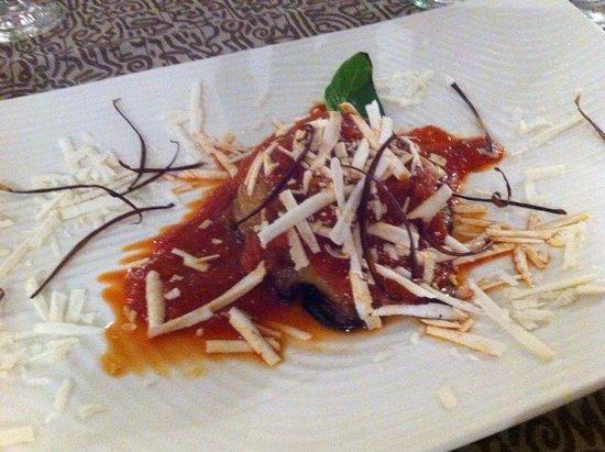 Zingaro Hotel Ristorante : Tortino di melanzane