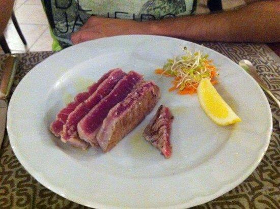 Zingaro Hotel Ristorante : Tagliata di tonno