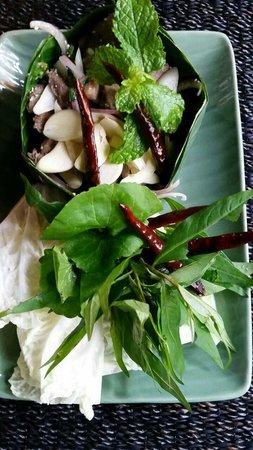 Balee Laos : Duck salad