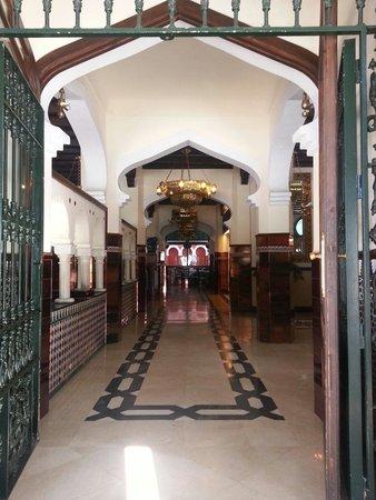 Hotel Casablanca: Entrada principal