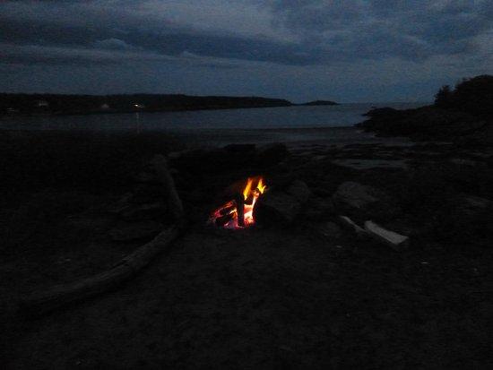 Hermit Island: Campfire