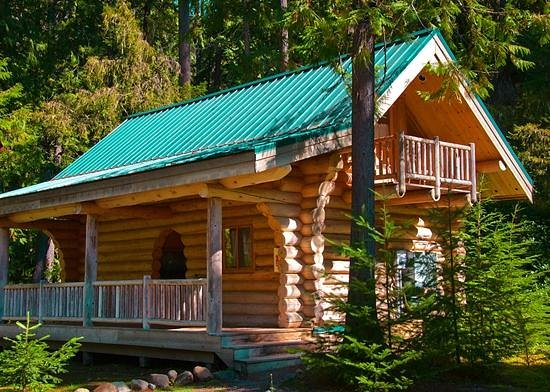 Alta Crystal Resort at Mount Rainier: Honeymoon Cabin exterior