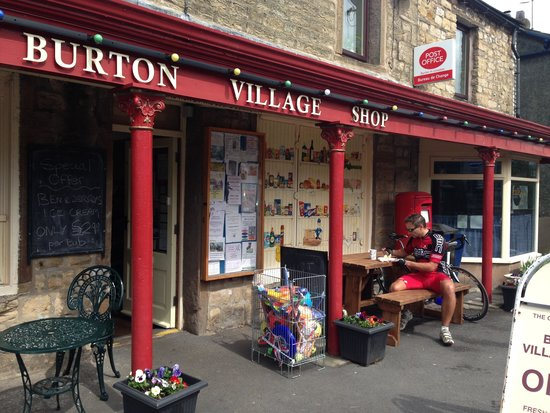 Burton-in-Lonsdale, UK: Cyclists welcome