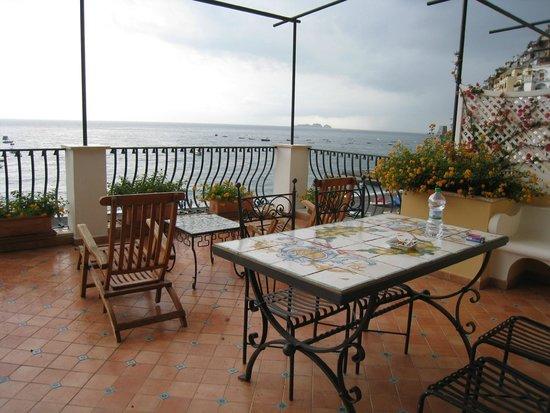 Hotel Buca di Bacco: バルコニー