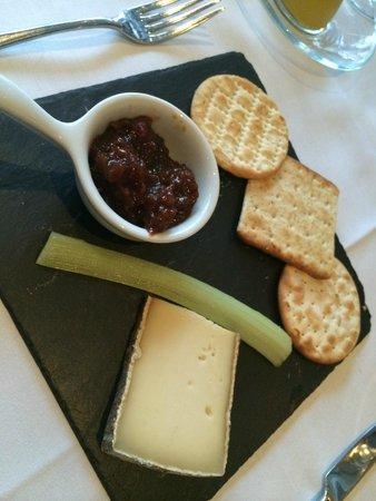 """Bluebird Chelsea: cheese """"platter"""""""