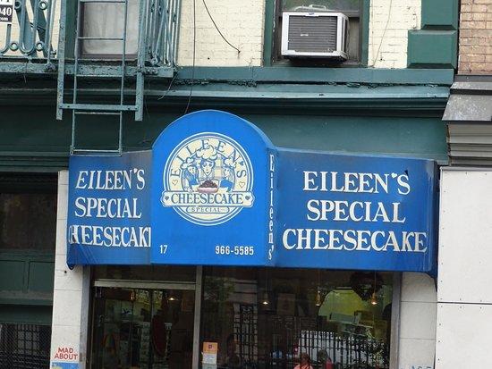 Eileen's Special Cheesecake: Fachada
