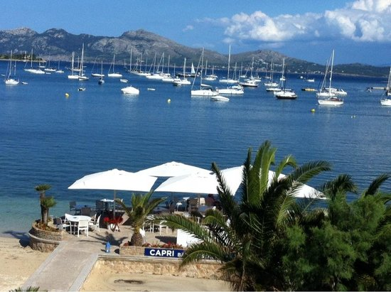 Hotel Capri: View from the balcony