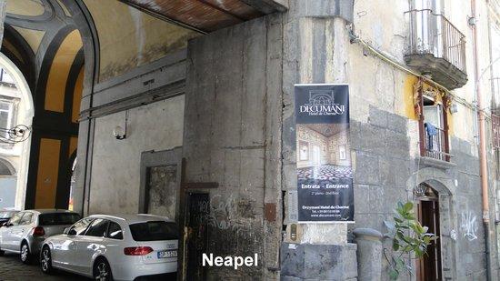 Decumani Hotel de Charme : Hoteleingang
