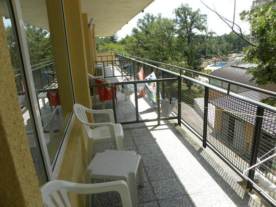 Gradina Hotel: Балконы большие, вид хороший