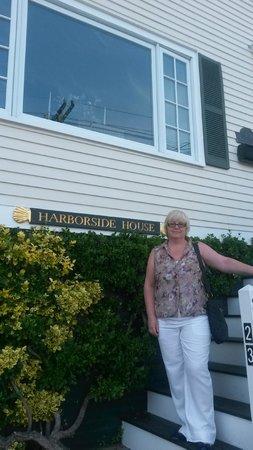 Harborside House: Entrance