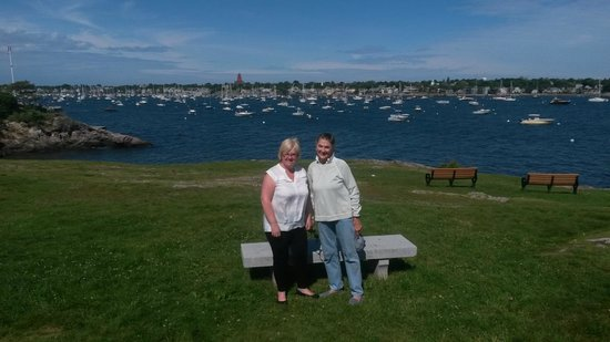 Harborside House: Susan with us at Marblehead Neck