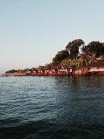 Batam View Beach Resort: at the pier