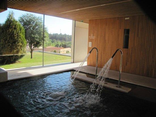 Hotel Minho: Vista da zona de lazer aquático