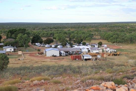 Tennant Creek, Avustralya: View of Banka Banka Station