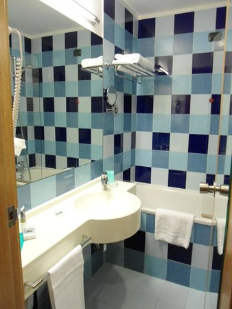 Mercure Roma Piazza Bologna : Banheiro