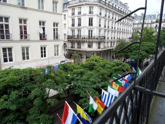 Hotel Agora: looking right on balcony