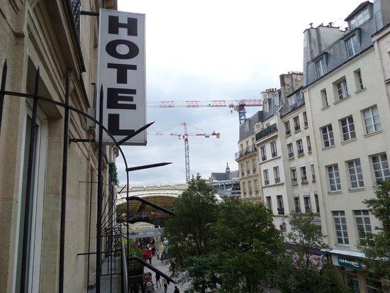 Hotel Agora: from balcony