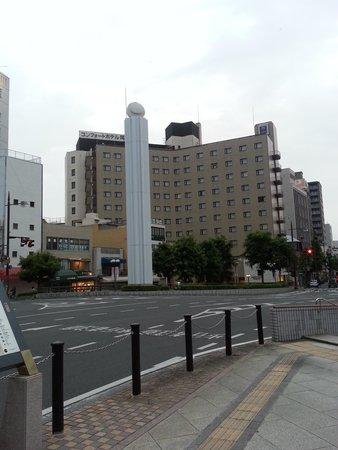 Comfort Hotel Okayama : 外観