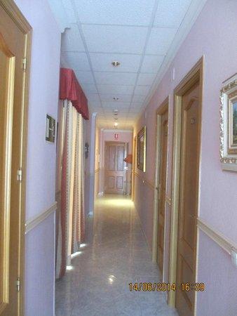 Hostal Toledo: pasillos