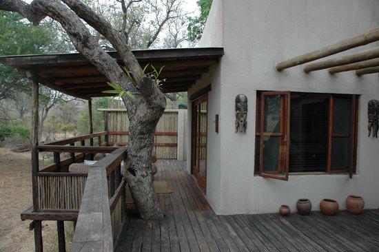 Notten's Bush Camp : overlooking the savannah