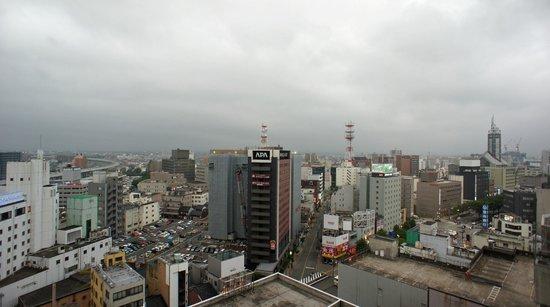 Toyama Excel Hotel Tokyu: 12階立山側客室からの眺望