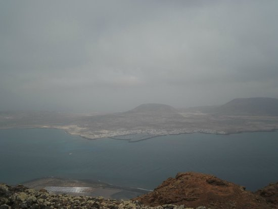 Mirador del Rio : Cloudy North of the Island but still great views