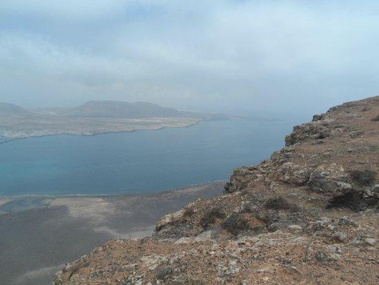 Mirador del Río: over 1500 ft high