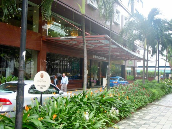 Front Of The Hotel Picture Of Grand Pacific Hotel Singapore