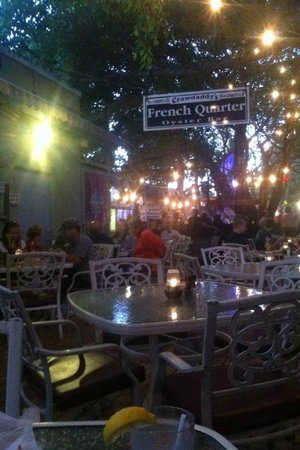 Crawdaddy's: Outdoor Seating Area
