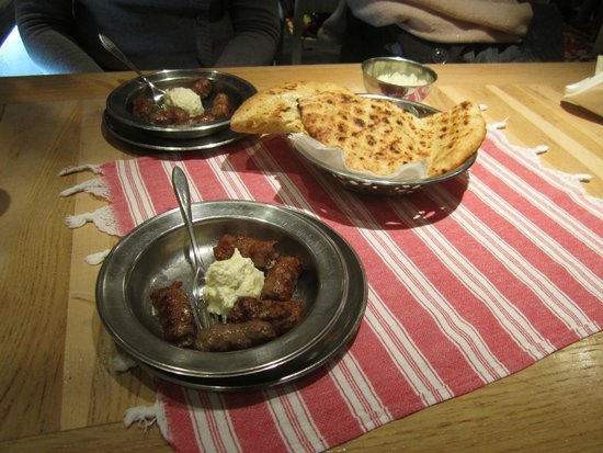 Petica Cevabzinica : our meal