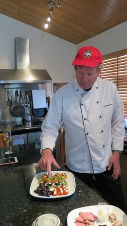 Season Tours: Chef Tyffi explains the appetizers in his kitchen