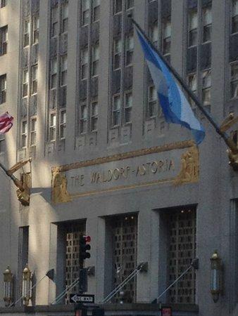 Waldorf Astoria New York: Famous Exterioir