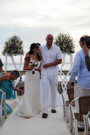 Viva Wyndham Dominicus Palace: Wedding set up
